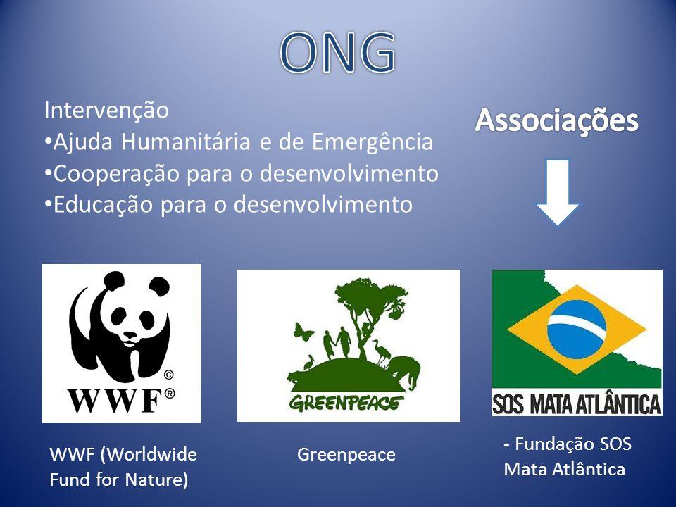ONG Associações Intervenção Ajuda Humanitária e de Emergência