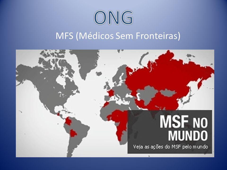 ONG MFS (Médicos Sem Fronteiras)