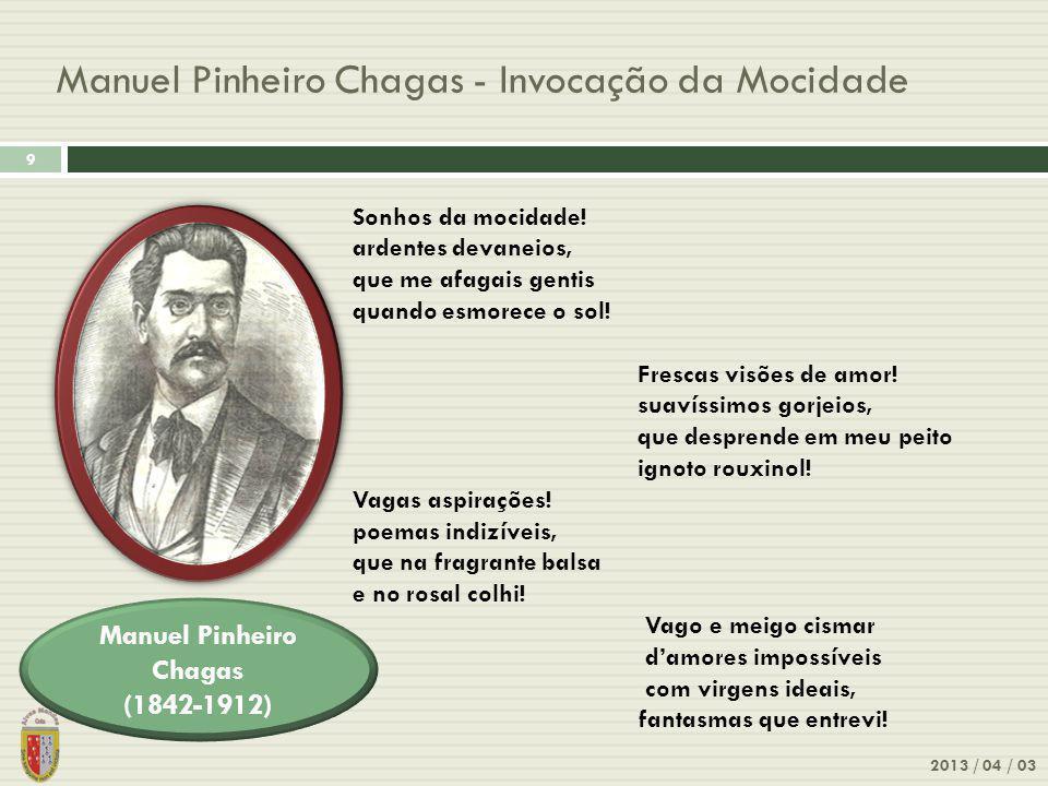 Manuel Pinheiro Chagas - Invocação da Mocidade