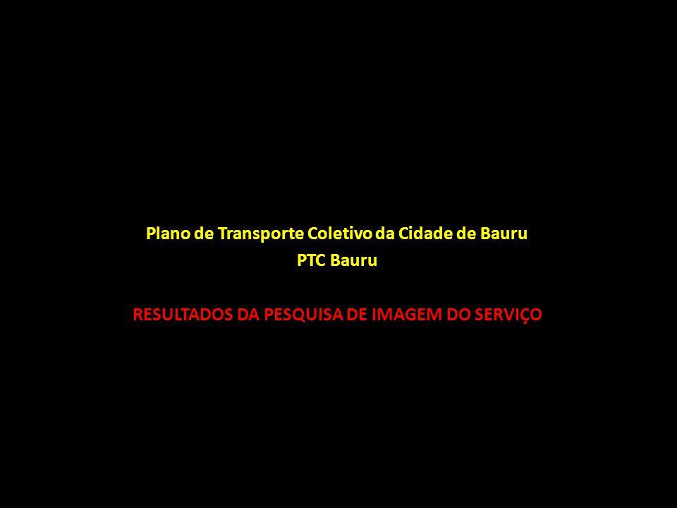 Plano de Transporte Coletivo da Cidade de Bauru - PTC Bauru