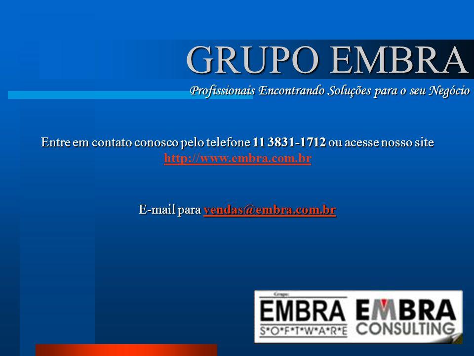 E-mail para vendas@embra.com.br
