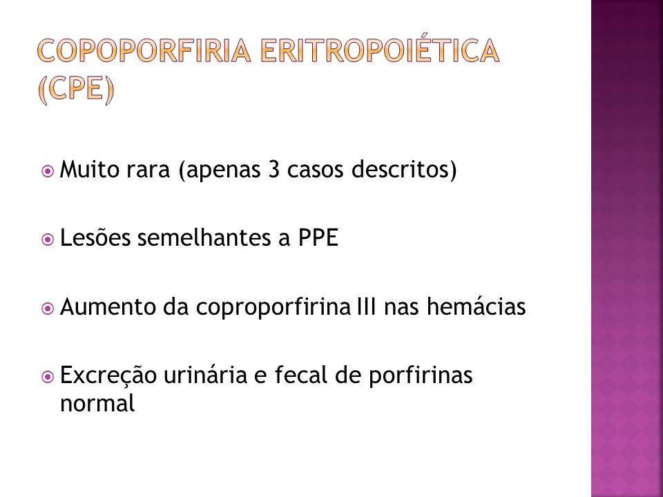Copoporfiria eritropoiética (cpe)