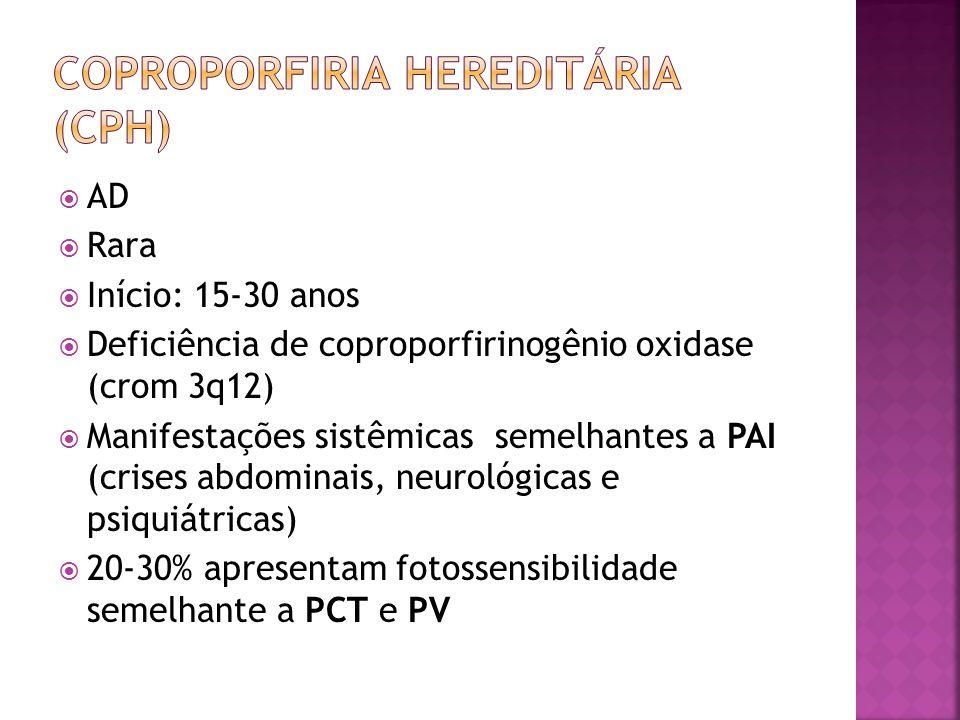 Coproporfiria hereditária (CPH)