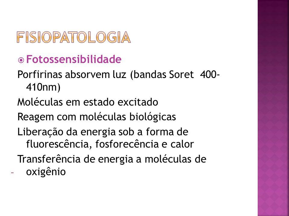 Fisiopatologia Fotossensibilidade