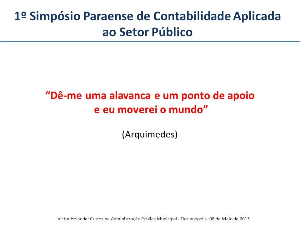 1º Simpósio Paraense de Contabilidade Aplicada ao Setor Público