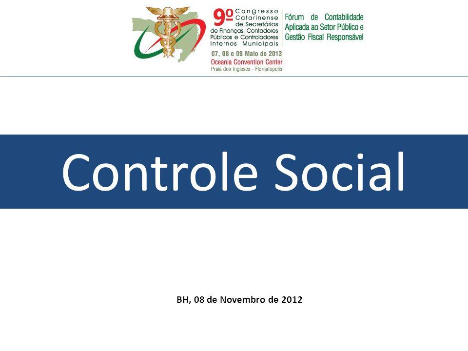 Controle Social BH, 08 de Novembro de 2012 34