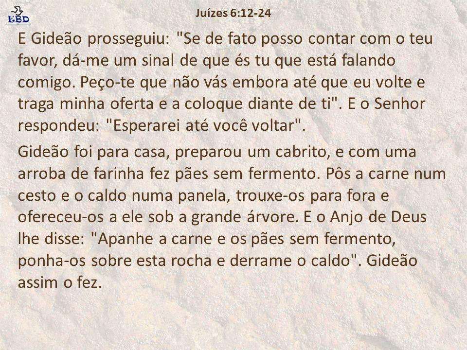 Juízes 6:12-24
