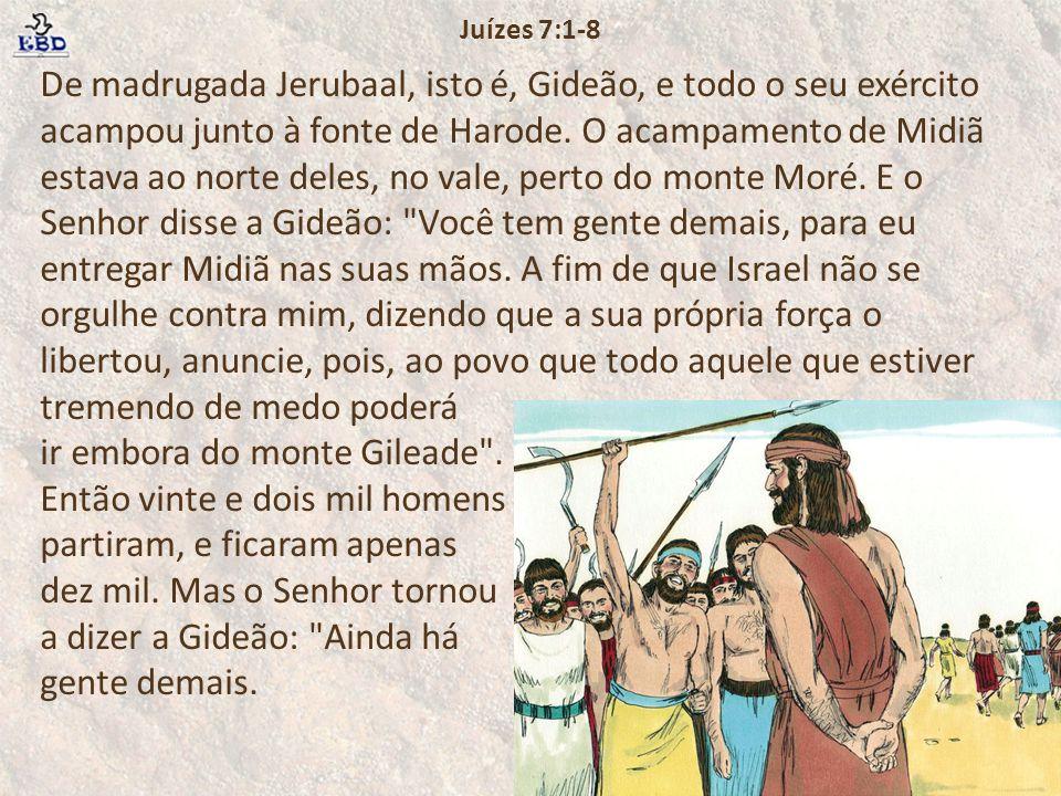 Juízes 7:1-8
