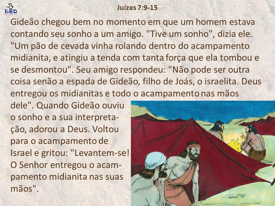 Juízes 7:9-15