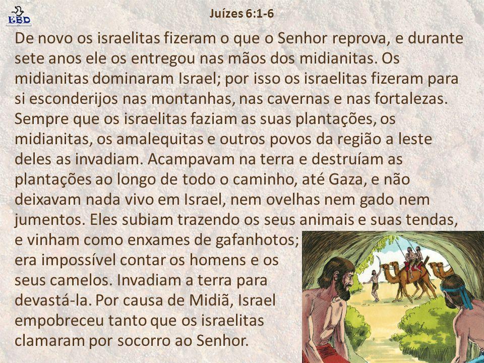 Juízes 6:1-6