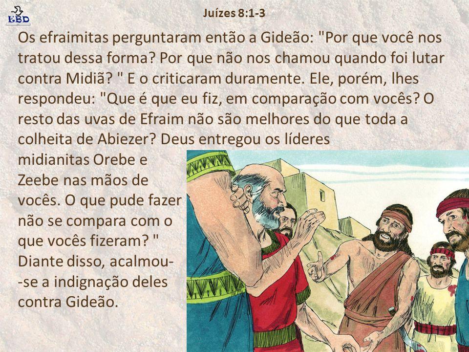 Juízes 8:1-3
