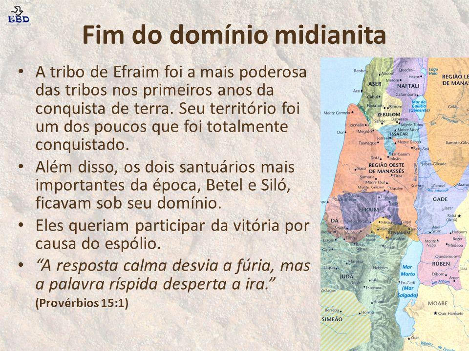 Fim do domínio midianita