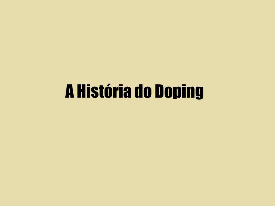 A História do Doping