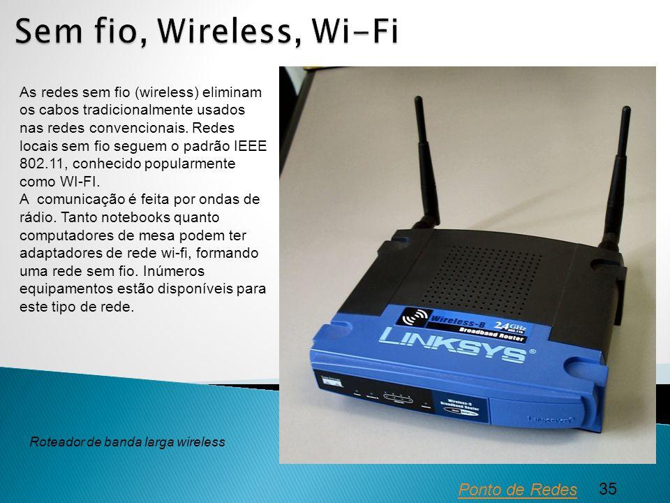 Sem fio, Wireless, Wi-Fi Ponto de Redes 35