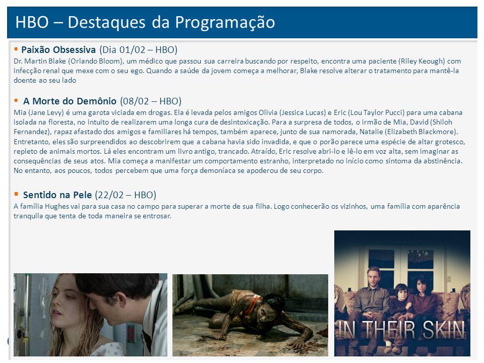 HBO – Destaques da Programação