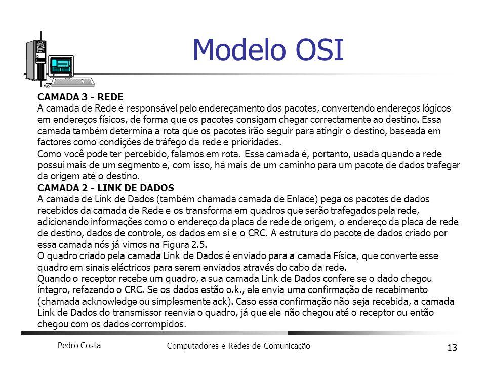 Modelo OSI CAMADA 3 - REDE