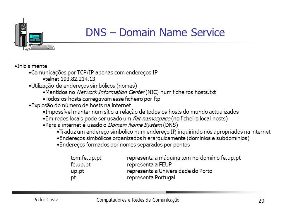 DNS – Domain Name Service