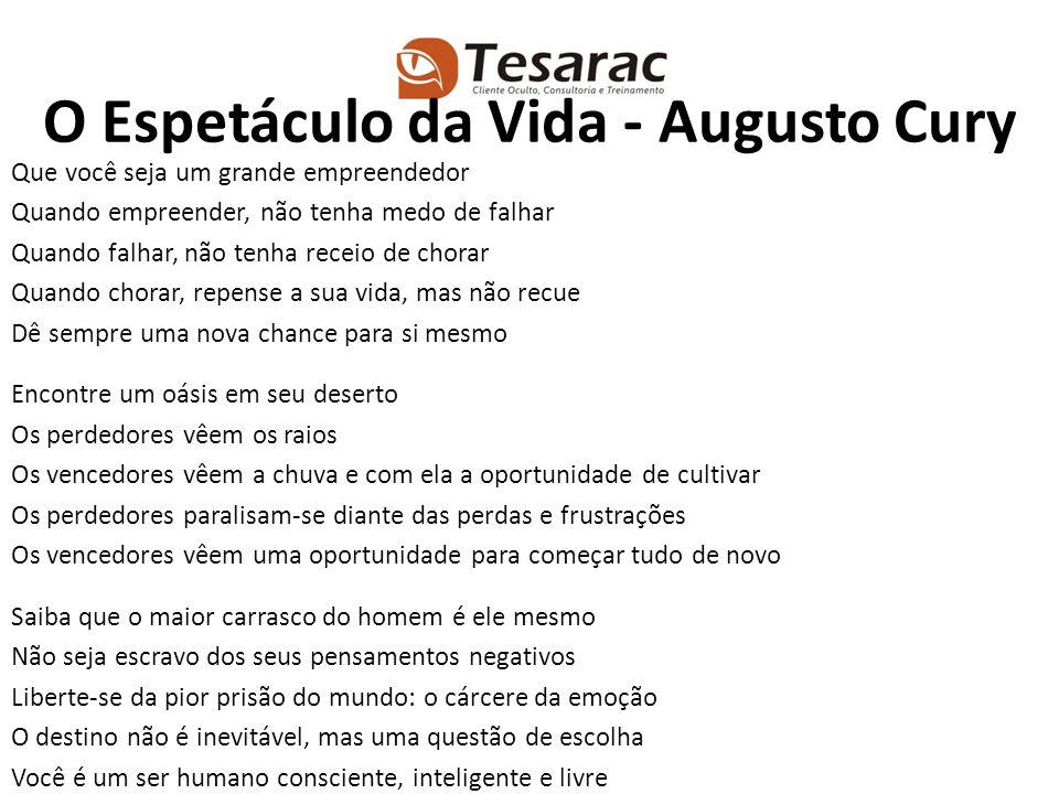O Espetáculo da Vida - Augusto Cury