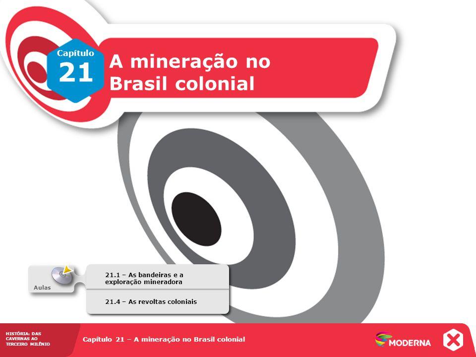 21 A mineração no Brasil colonial Capítulo