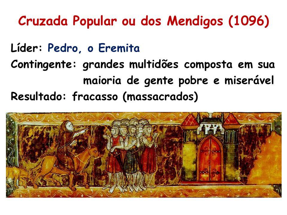 Cruzada Popular ou dos Mendigos (1096)