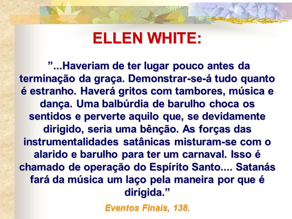 ELLEN WHITE: