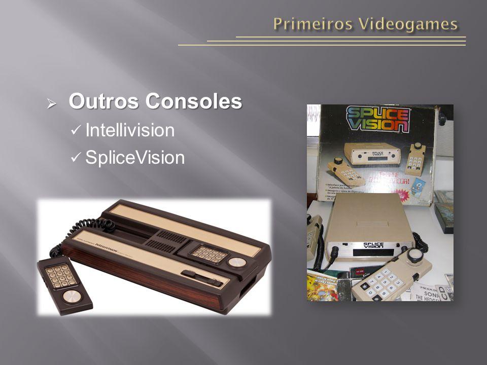 Primeiros Videogames Outros Consoles Intellivision SpliceVision