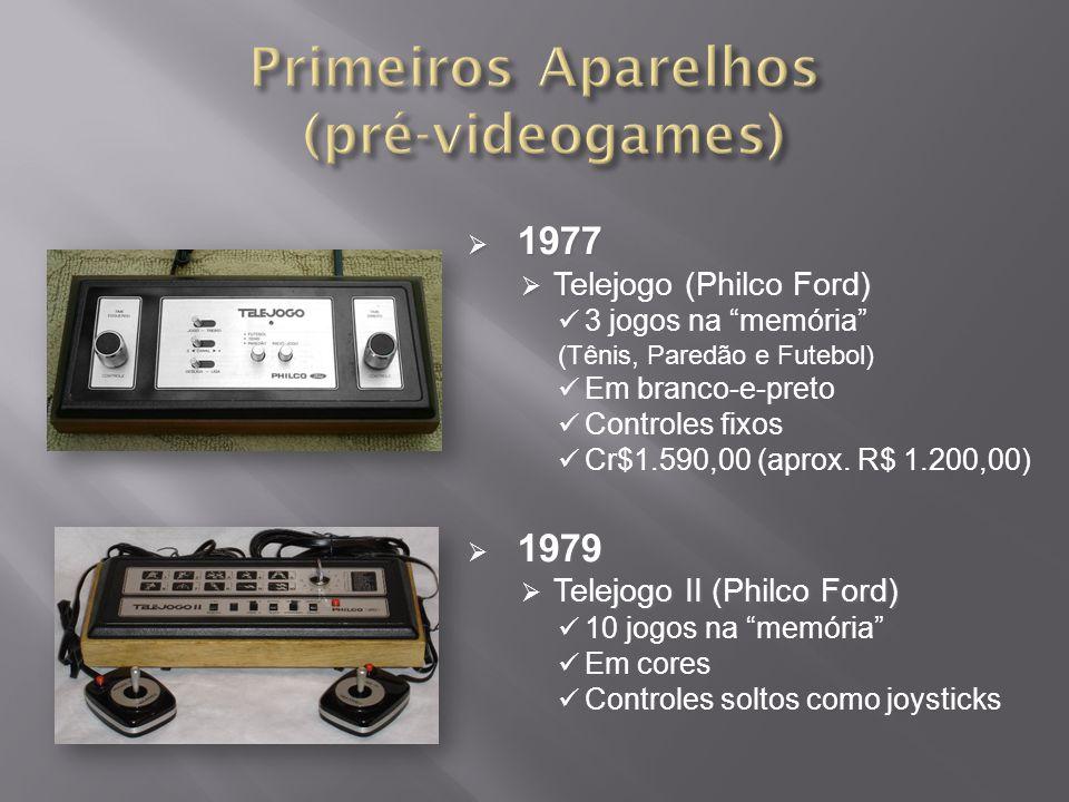 Primeiros Aparelhos (pré-videogames)