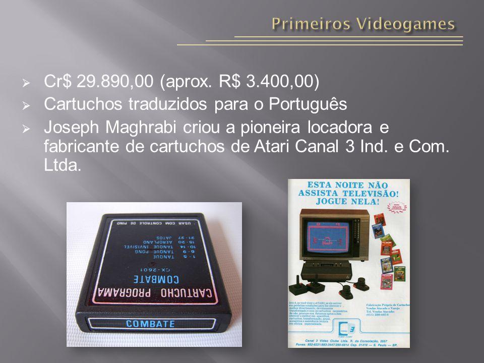 Cartuchos traduzidos para o Português