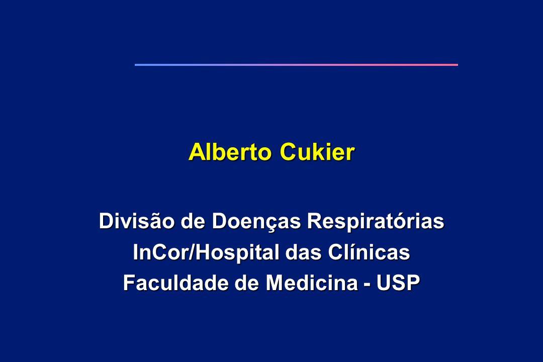 Alberto Cukier Divisão de Doenças Respiratórias