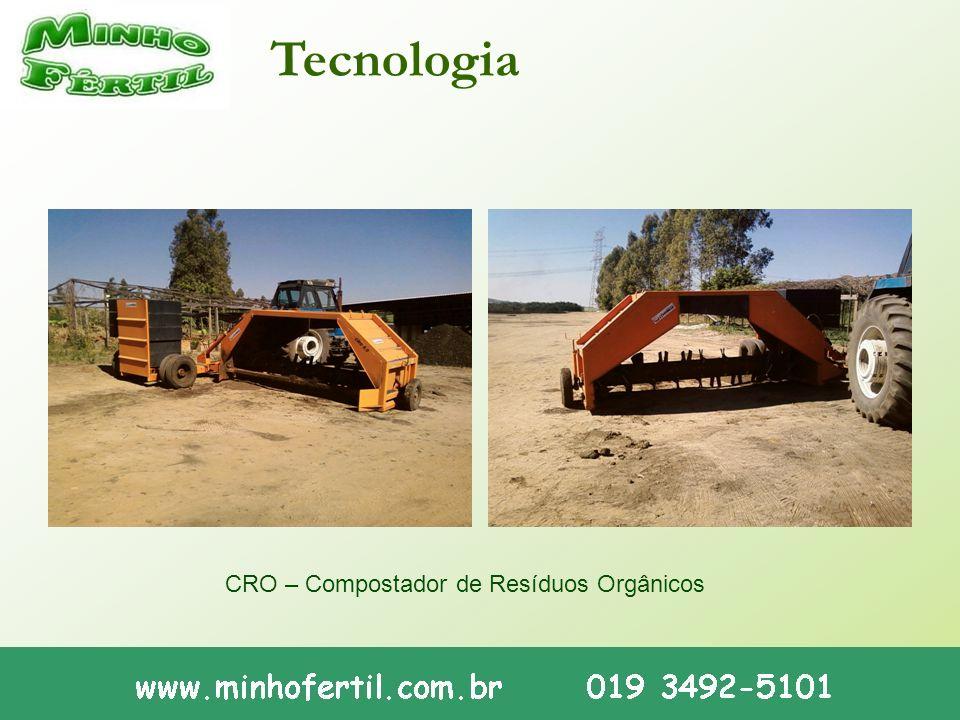 Tecnologia CRO – Compostador de Resíduos Orgânicos