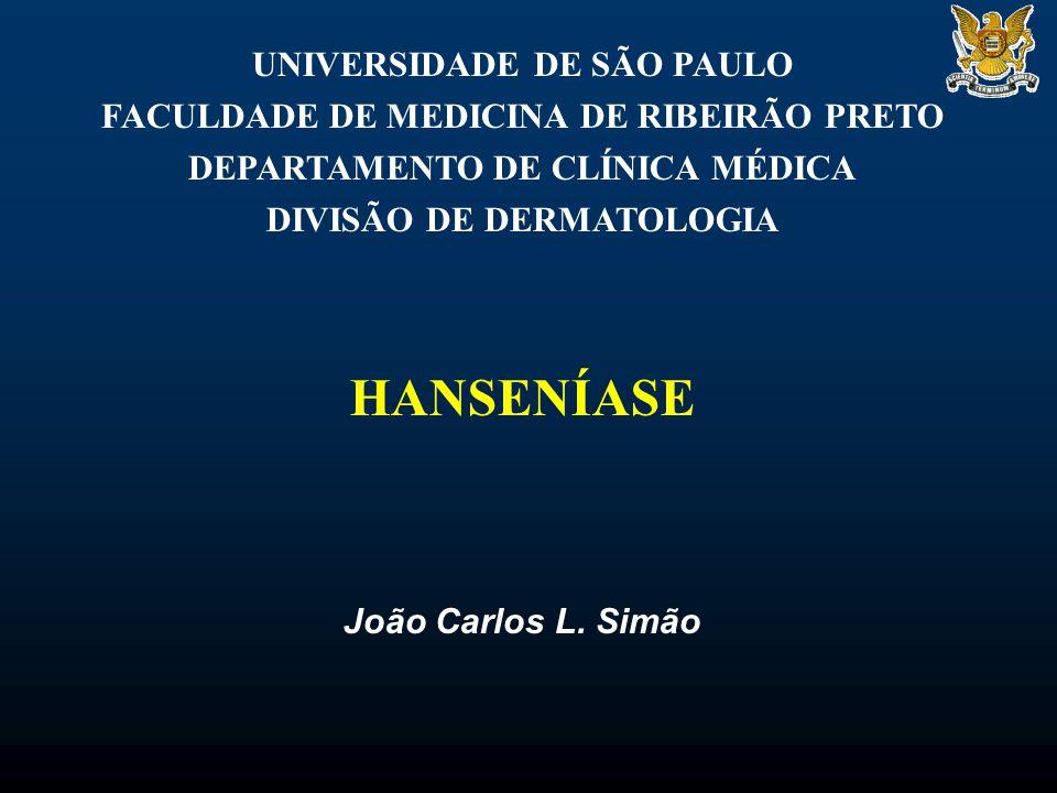 HANSENÍASE UNIVERSIDADE DE SÃO PAULO