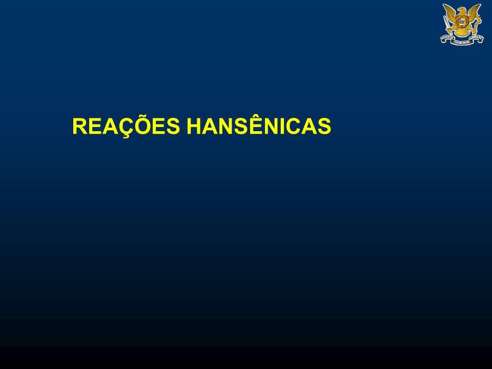 REAÇÕES HANSÊNICAS