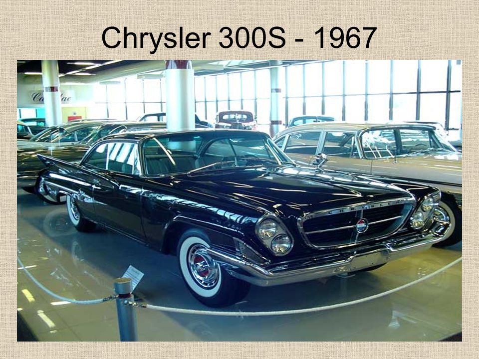 Chrysler 300S - 1967