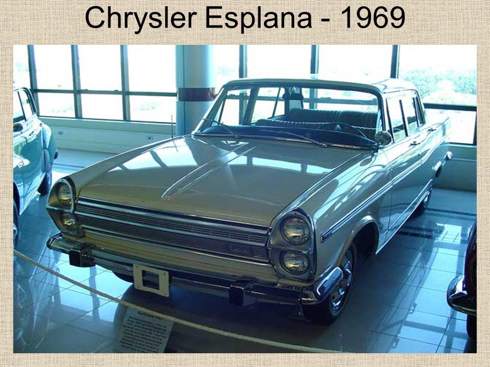 Chrysler Esplana - 1969