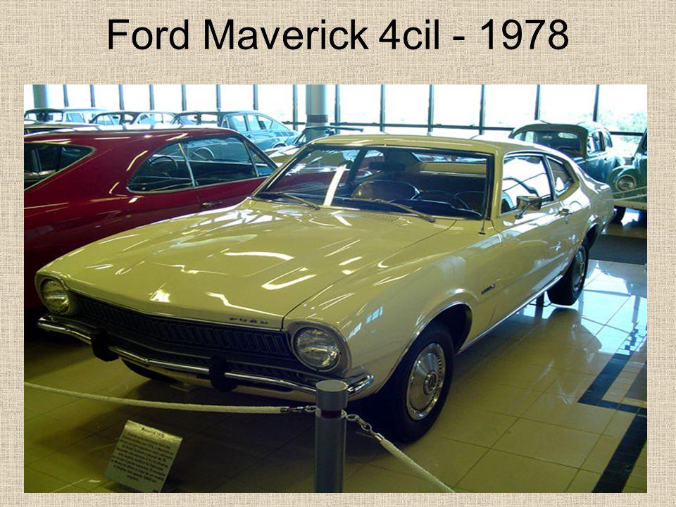 Ford Maverick 4cil - 1978