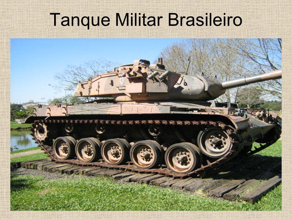 Tanque Militar Brasileiro