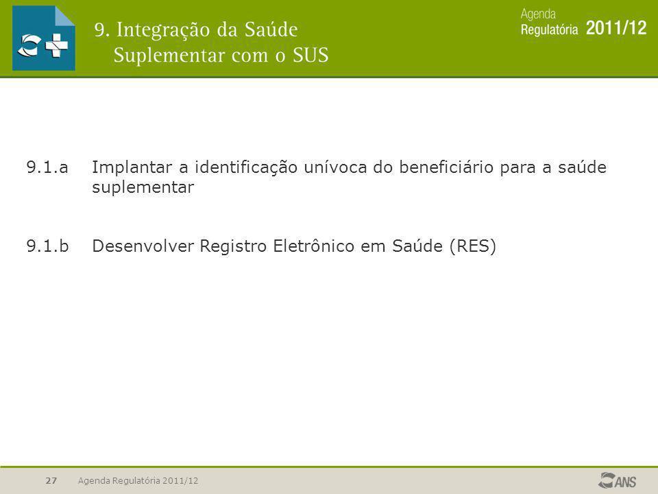 9.1.b Desenvolver Registro Eletrônico em Saúde (RES)