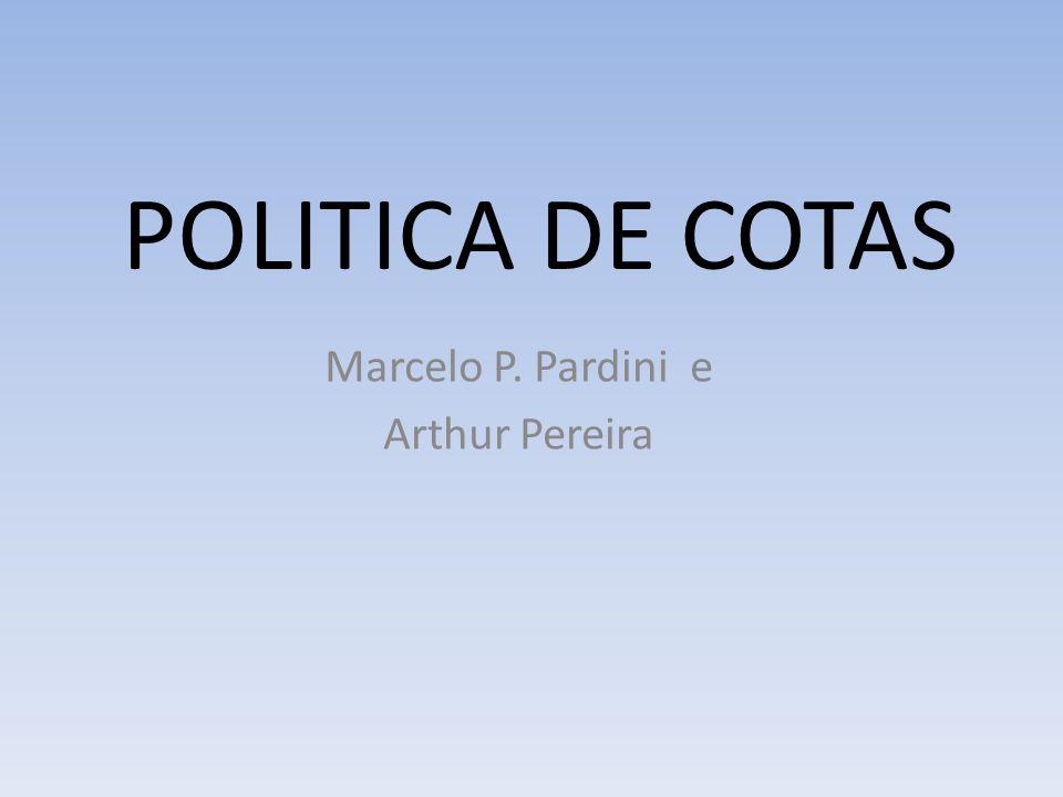 Marcelo P. Pardini e Arthur Pereira