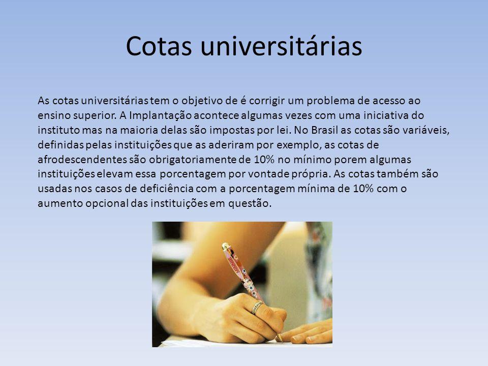 Cotas universitárias