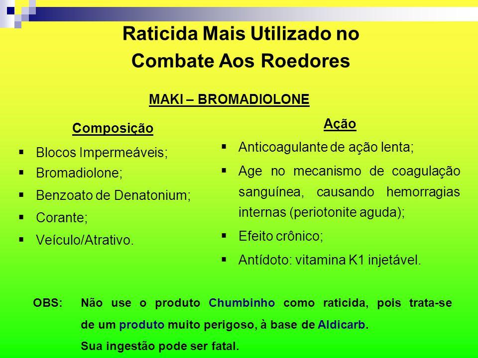 Raticida Mais Utilizado no Combate Aos Roedores