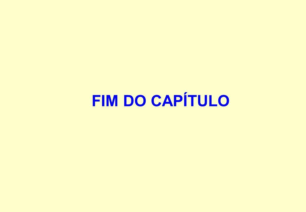 FIM DO CAPÍTULO