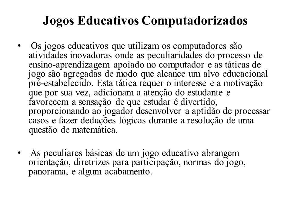 Jogos Educativos Computadorizados
