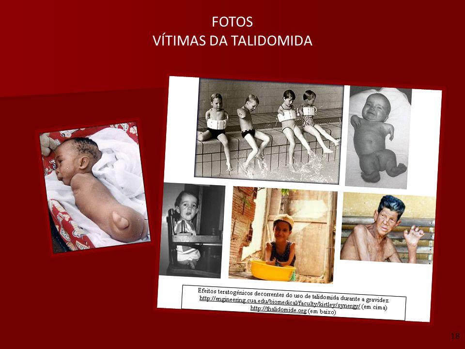 FOTOS VÍTIMAS DA TALIDOMIDA