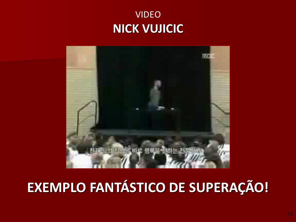EXEMPLO FANTÁSTICO DE SUPERAÇÃO!