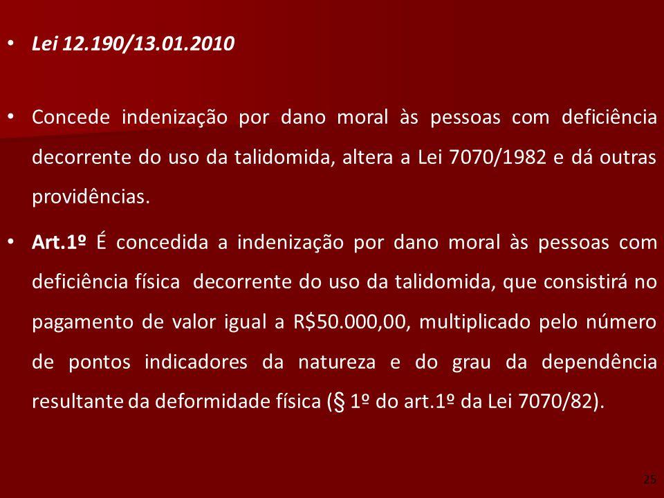 Lei 12.190/13.01.2010