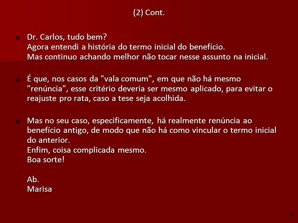 (2) Cont.
