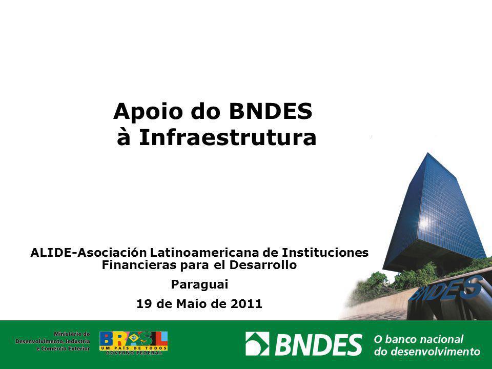 Apoio do BNDES à Infraestrutura