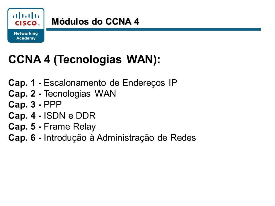 CCNA 4 (Tecnologias WAN):