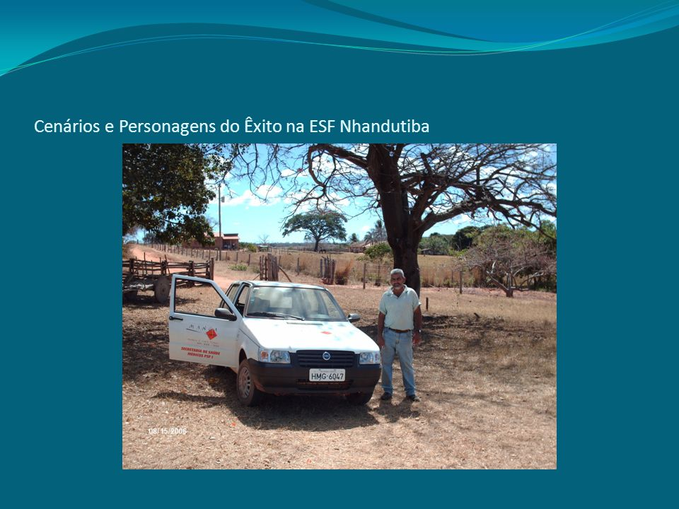 Cenários e Personagens do Êxito na ESF Nhandutiba