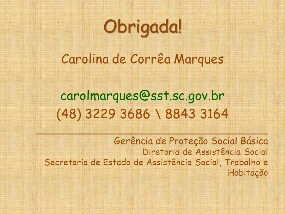 Carolina de Corrêa Marques